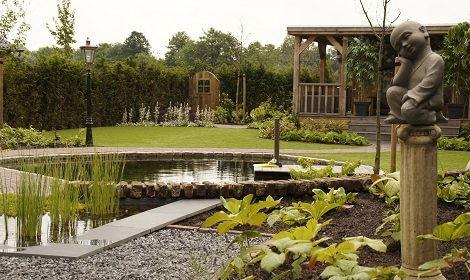 Vijver aanleggen in venlo bel veldpaus tuinen for Vijver laten aanleggen